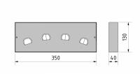 LED Wandleuchte Murum RDB  4
